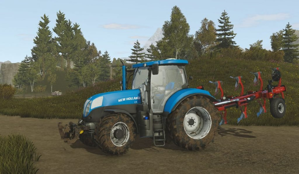 Трактор New Holland T7 для Pure Farming 2018