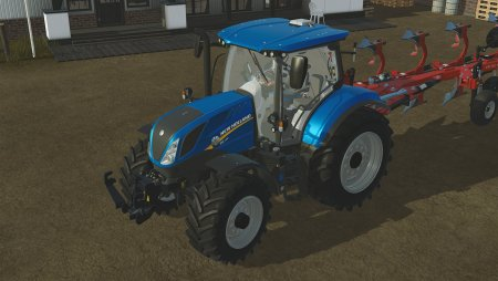 Трактор New Holland T6 160  для Pure Farming 2018