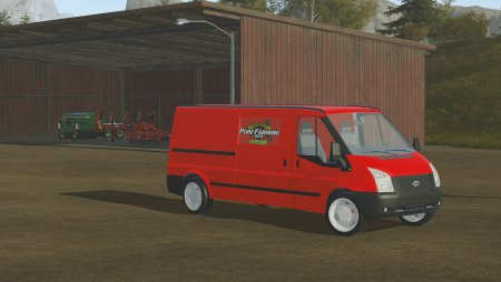 Автомобиль Ford Transit Box Truck для Pure Farming 2018